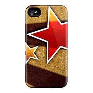Quality Jeffrehing Case Cover With Super Star Nice Appearance Compatible With Iphone 4/4s