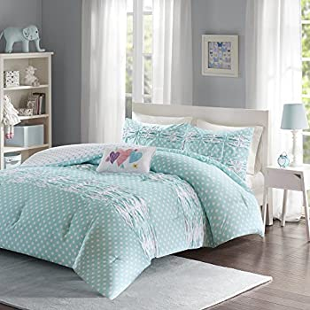 Amazon Com Modern Girls Kids Teen Bedding Aqua Light Blue