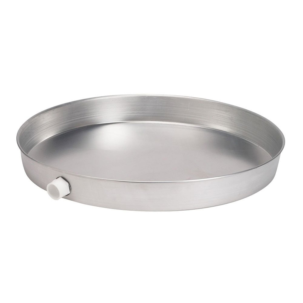 Oatey 34174 Aluminum Pan Bagged with 1-Inch CPVC Fitting, Pan without Pre-Drilled Hole, 26-Inch