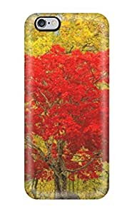 For iphone 6 plus Protector Case Reds And Yellows Phone Cover
