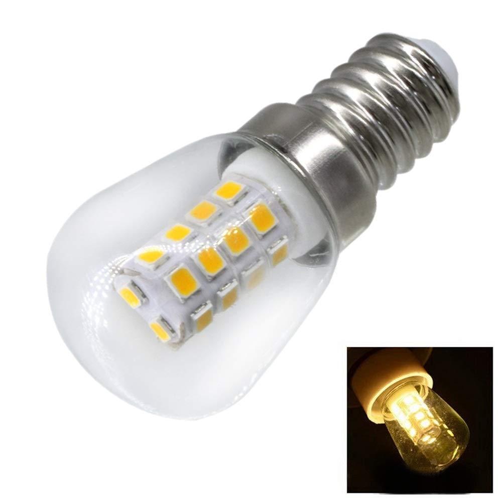 KCQI T26 - Bombilla LED para frigorífico (2 W, E14, 220 V, luz ...