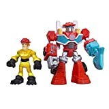 rescue pack - Playskool Heroes Transformers Rescue Bots Heatwave the Fire-Bot and Kade Burns Figure Pack
