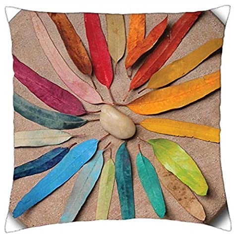 Mother Nature's Color Wheel by Pixy Cakes - Throw Pillow Cover Case (18
