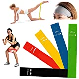 DAJIABUY Exercise Bands Sports Headbands Set Resistance Bands Exercise Band Loop Set Yoga Thick Gym Bands For Sale