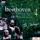 Beethoven: The String Quartets Vol. 4