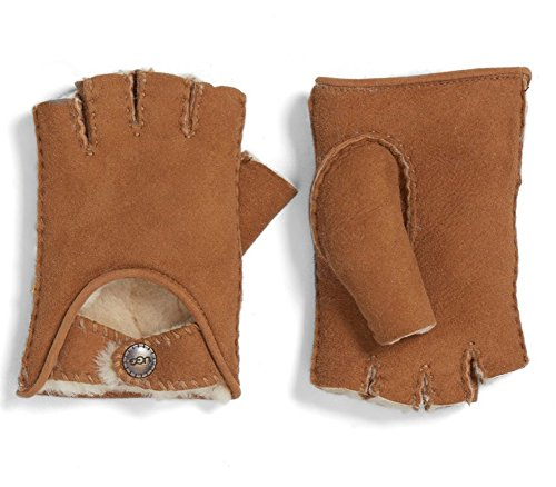 UGG Womens Mckay Fingerless Driver In Chestnut Size Small
