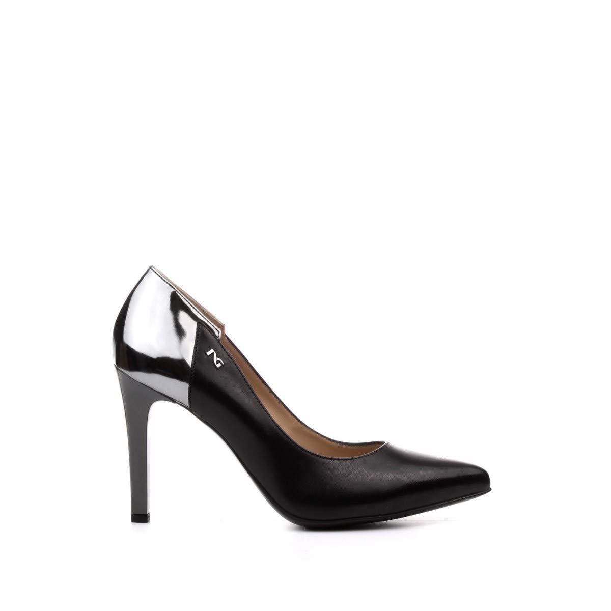 DECOLT NEROGIARDINI A909340DE100 A909340 9340 Zapatos DE Mujer EN Cuero Negro