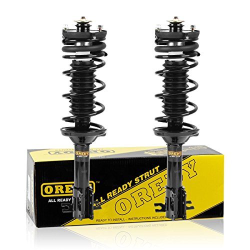 - OREDY Rear Pair 2Pieces Complete Struts Assembly Shock Coil Spring Assembly Kit 171994 15010 SR4015 Compatible with Ford Escort 1997 1998 1999 2000 2001 2002/Mercury Tracer 1997 1998 1999