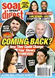 Soap Opera Digest Magazine October 28 2019 Peter Reckell Anthony Geary James Scott Vanessa Marcil