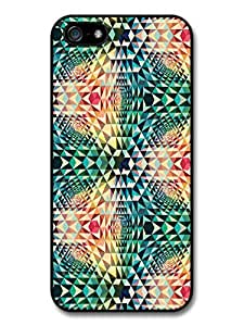Cool and Colourful Psychedelic Shape Hipster Pattern case for iphone 6 4.7
