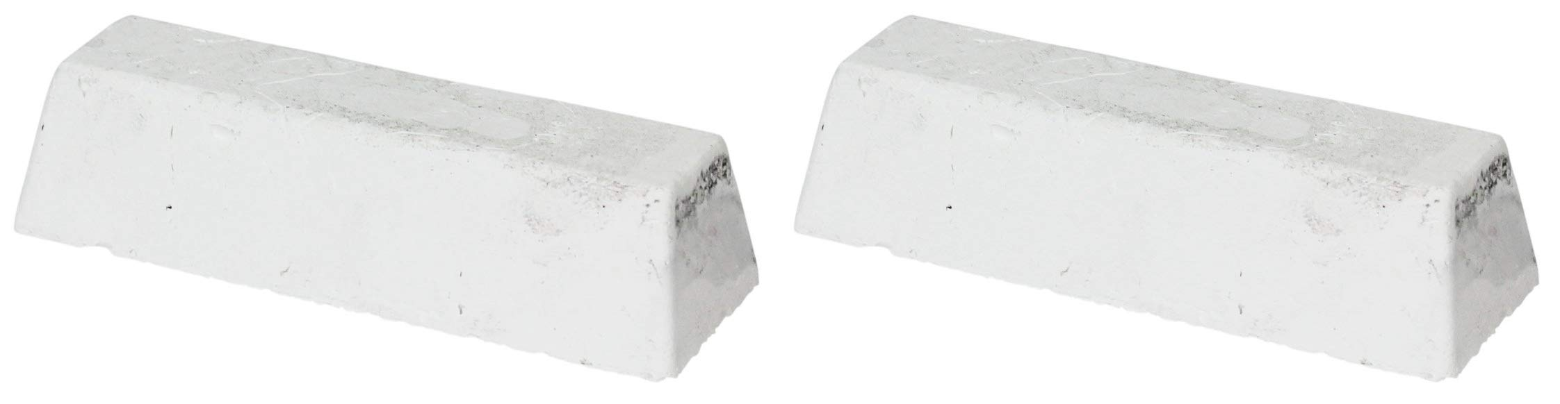 JacksonLea 47332SP White Buffing Compound, Standard Bar, 1-1/2'' Width x 1-1/4'' Height x 6-1/4'' Length (Тwо Расk)