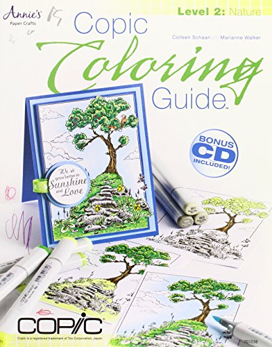 Copic Coloring Guide Level 2: (Copic Drawing)
