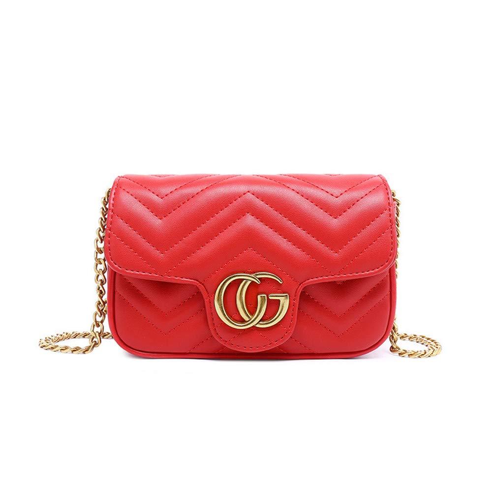Landyshop Fanny Pack Waist Bag for Women Fashion Red
