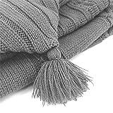 XMWEALTHY Newborn Baby Wrap Swaddle Blanket Knit
