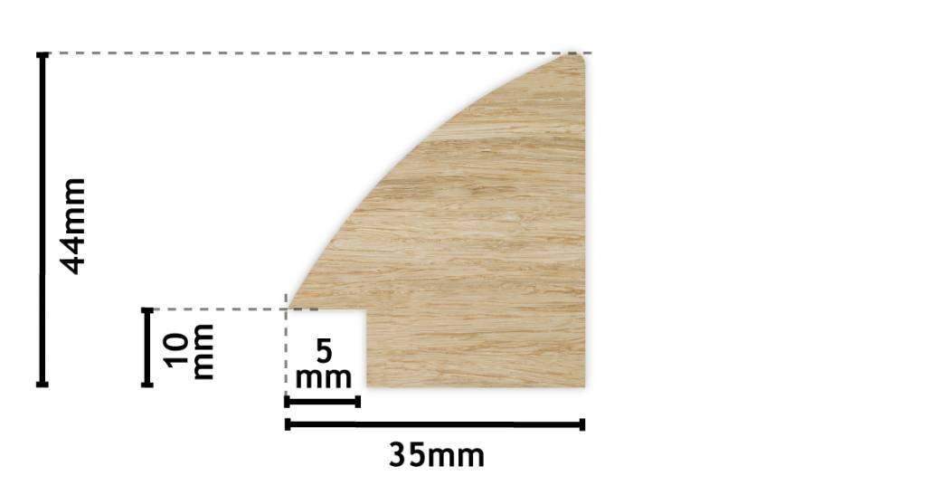 Estepona - Clásico Espejo/espejo de pared de madera en ...