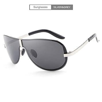 Wagyunfei Gafas de Montura Confort Gafas de Sol polarizadas para Hombres Gafas de Pesca Espejo de conducción Gafas de Sol Gafas de Sol para Hombre (Color ...