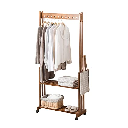 Amazon.com: Coat Stand Hanger Floor Hanger Bedroom Clothes ...