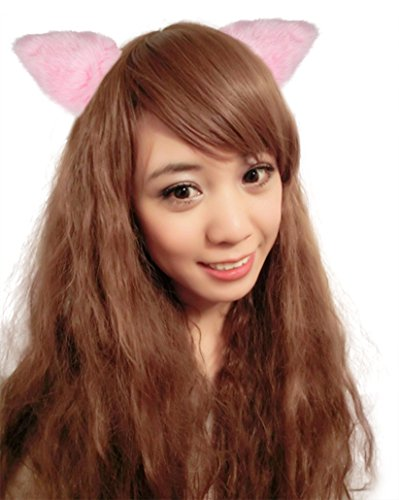 QinMi Lover Fancy Cute Ears Head Band Costume (Plastic Wrap Costume Ideas)