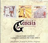 Trespass / Nursery Cryme / Foxtrot [3 Picture CD Box] by Genesis