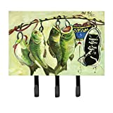 Caroline's Treasures JMK1113TH68 Recession Food Fish Caught with Spam Leash or Key Holder, Large, Multicolor