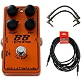 Xotic BB Preamp Overdrive Guitar Pedal w/ 3 Cables