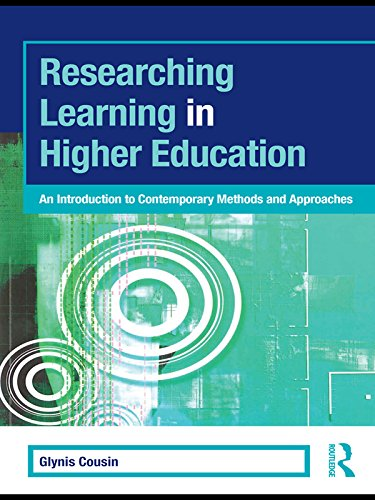 Researching Learning in Higher Education: An Introduction to Contemporary Methods and Approaches (SEDA Series) (Introduction To System Approach In Educational Technology)