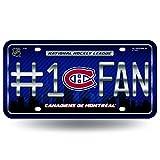 Rico NHL Montreal Canadiens #1 Fan Metal Tag