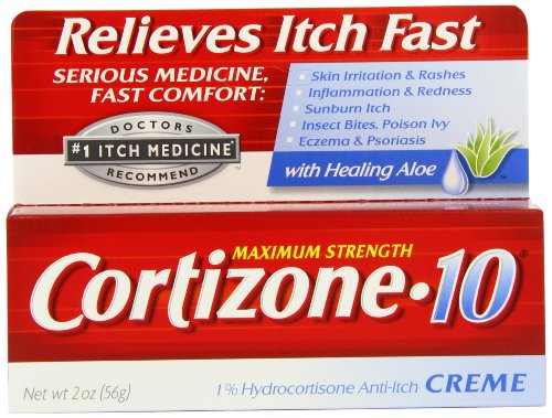 Cortisone-10 Max Force cortisone-10 CRME, boîtes 2 oz (pack de 2)