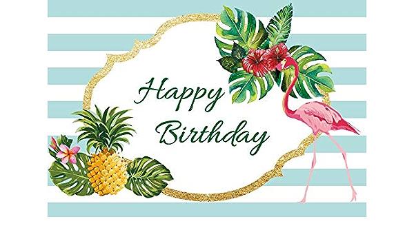 Leyiyi Birthday Party Backdrop 8x8ft Photography Backdrop Triple Birthday Cake Burny Candle Colorful Balloon Flag Burning Firework Baby Blue Background Photo Booth Props