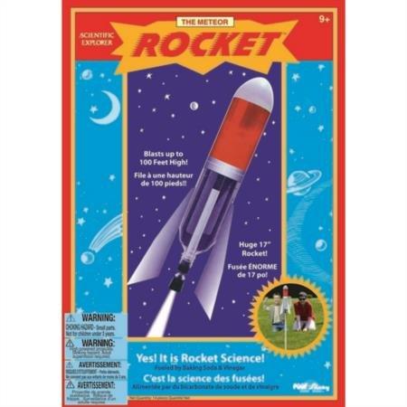 Scientific Explorers Meteor Rocket Kit- ()