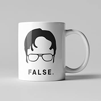 The Office Worlds Best Boss - Dwight Schrute coffee mug - White, 11 ounces Coffee Mug or Tea Cup by Monkey Duo