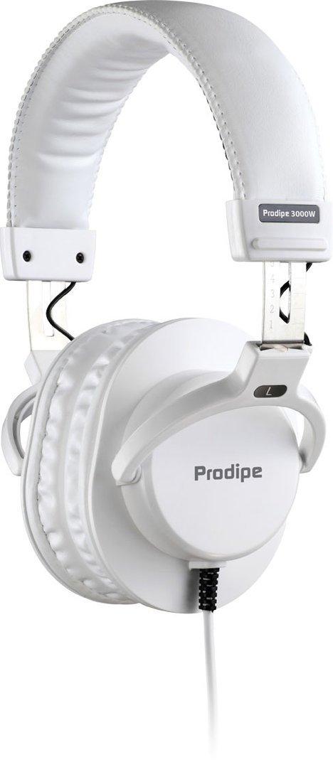 Prodipe 3000W Professional Studio Headphones-White