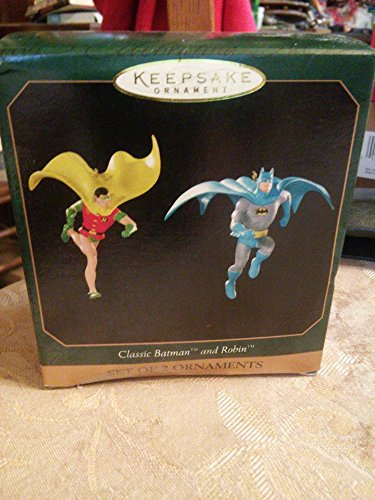 Hallmark Keepsake Ornament Classic Batman and Robin