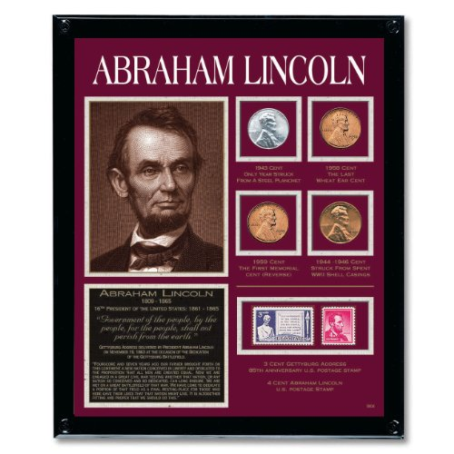 American Coin Treasures Lincoln Framed Tribute - Mint Framed Photo