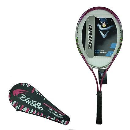 Raqueta de Tenis - Raqueta de Tenis de Entrenamiento de aleación de Aluminio ecológica