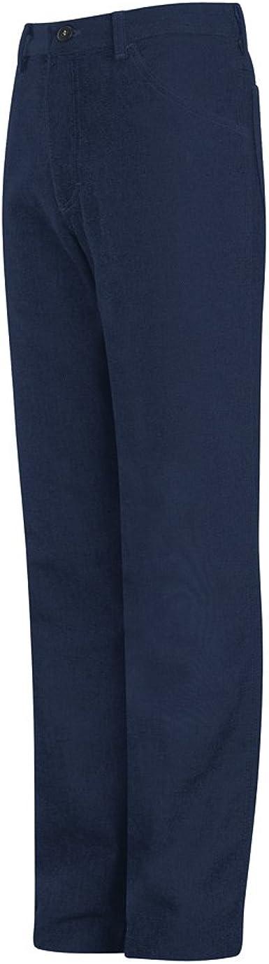 EXCEL FR /9 oz Mens Bulwark Jean-Style Pant Navy