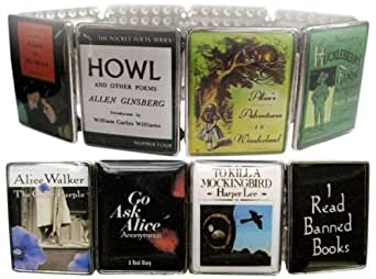 I Read Banned Books Bracelet_ adult titles