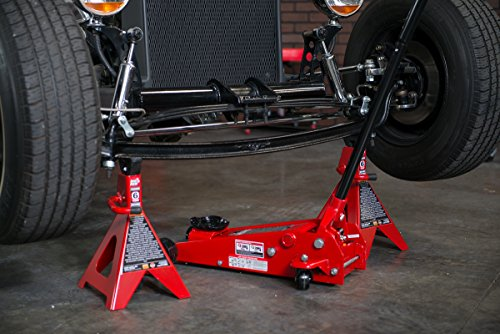 Torin Big Red Steel Jack Stands: Double Locking, 6 Ton Capacity, 1 Pair by Torin (Image #9)