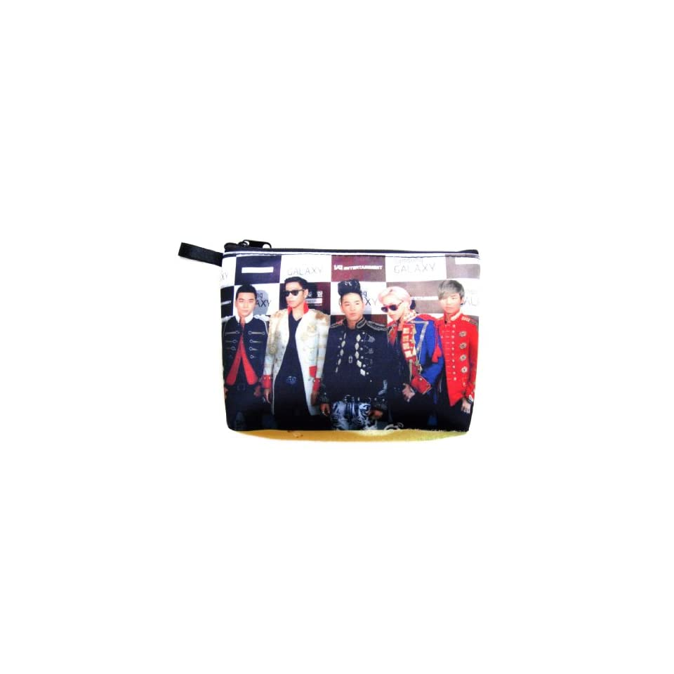 BIG BANG Boy Band Kpop Cosmetic Bag   Pencil Case (#007)