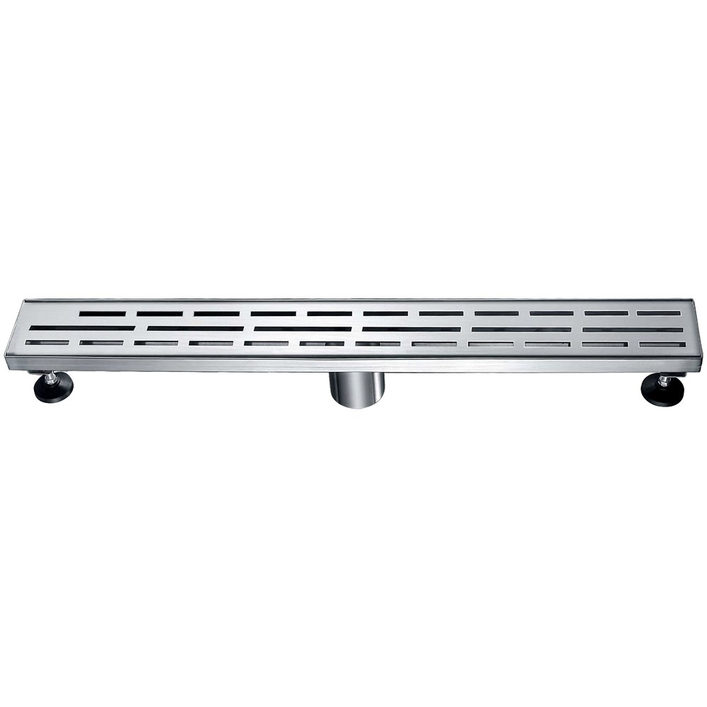 Dawn LAN240304 Amazon River Series Linear Shower Drain, 24-Inch