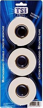 TSI Sided Tape 3–Pack