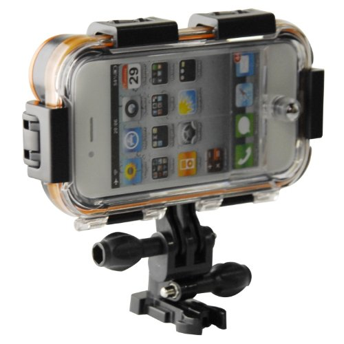 newest 5ec7c 6190f Amazon.com: iClam - Waterproof Extreme Sports Case for your iPhone 4 ...