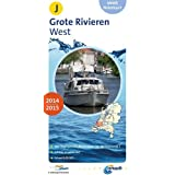 ANWB Waterkaart Grote Rivieren West 2014/2015 (ANWB waterkaart (J))