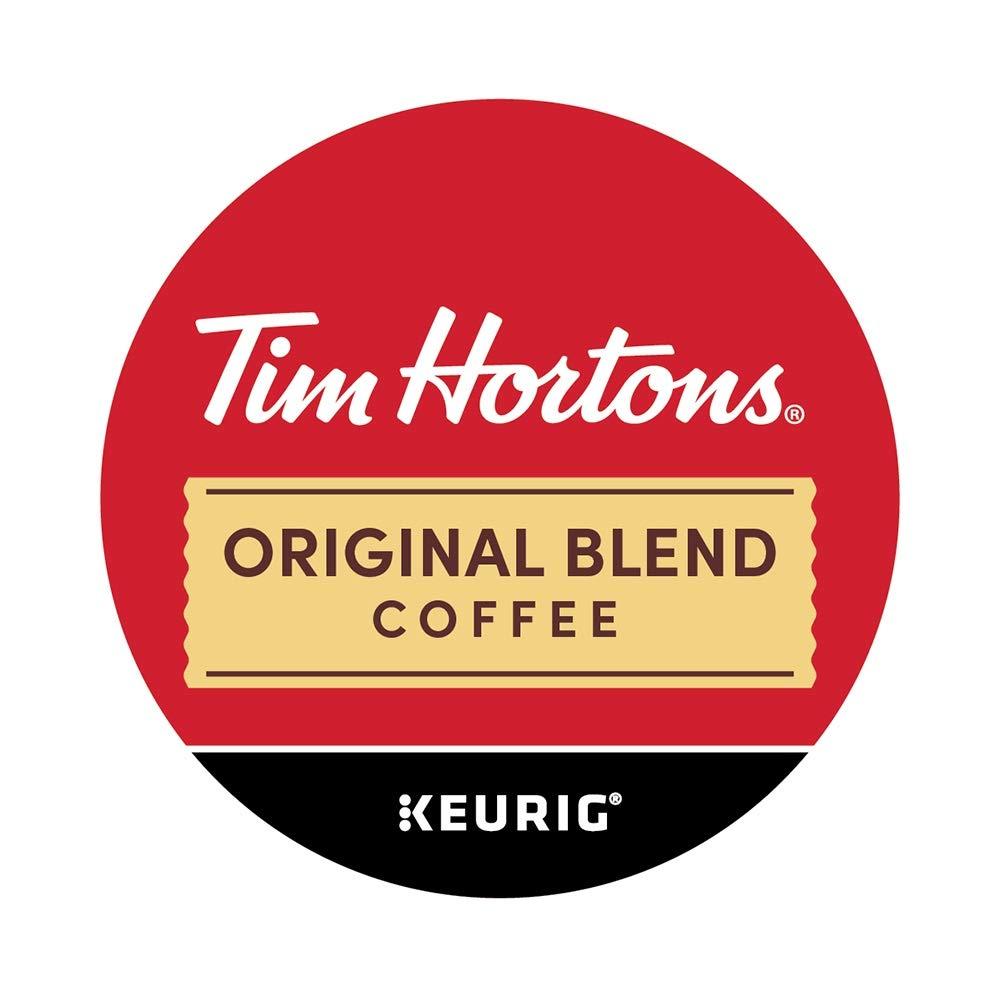 Tim Horton's Single Serve Coffee Cups, Original Blend, 80 Count by Tim Hortons