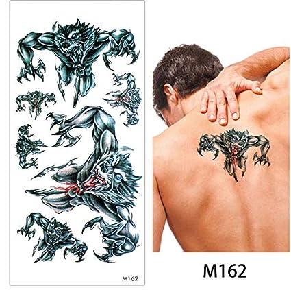yyyDL Tatuaje temporal etiqueta engomada del maquillaje del cuerpo ...