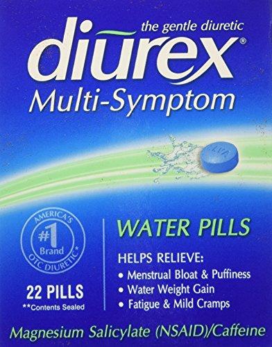 Diurex Diurétique Pilules De L'Eau, 22 Unités
