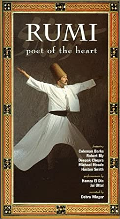 Amazoncom Rumipoet Of The Heart Vhs Coleman Barks Movies Tv