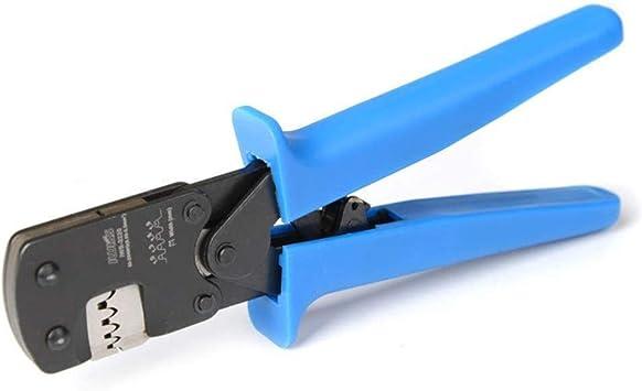 ZTLE Crimpadora 0.03-0.52mm/² 32-20AWG Alicates de Terminales Micro Conector Pin Engarzadora de trinquete para Trajes de Barril Abierto D-Sub Molex JST JAE TYCO-E