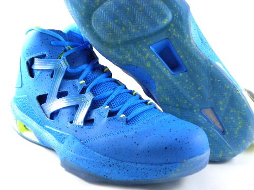 best authentic 4b0b0 a8924 Amazon.com   Nike Jordan Melo M9 BHM Black History Month Blue Volt Men  Shoes 579592 423 (12)   Shoes