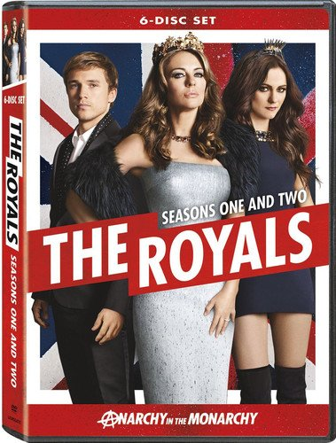 DVD : The Royals: Season 1 & 2